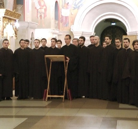 TROPOS BYZANTINE CHOIR IN MOSCOW