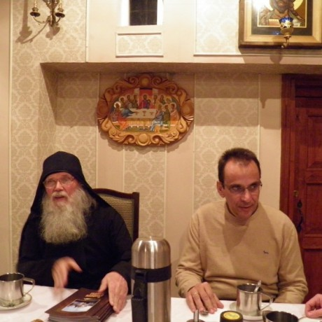 AT THE METOHI OF HOLY MONASTERY OF ST. PANTELEIMON MOUNT ATHOS, IN MOSCOW