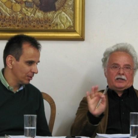 Ο ΚΑΘΗΓΗΤΗΣ ΓΡ. ΣΤΑΘΗΣ ΣΤΟΝ ΒΥΖΑΝΤΙΝΟ ΧΟΡΟ 'ΤΡΟΠΟΣ'