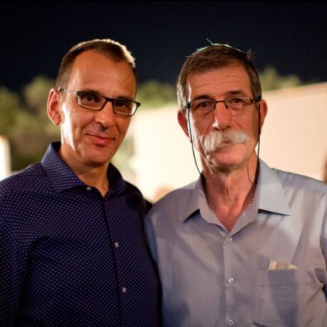 Με τον Γιάννη Χασανίδη